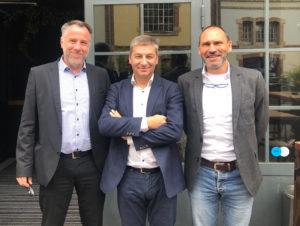 Daniel Eischen, Bruno Liesse, Serge De Schryver